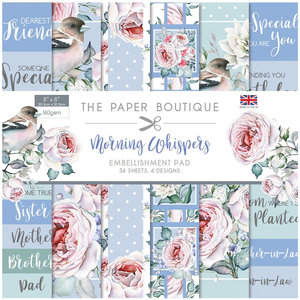 """Creative Expressions Embellishment Pad 8"""" x 8"""" - Morning Wispers"""