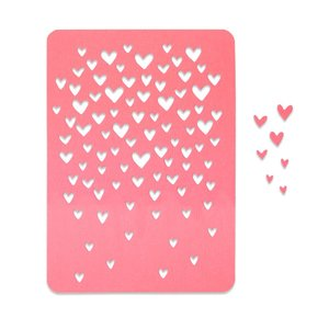 Sizzix Thinlits Die - Drifting Hearts 663451