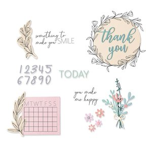 Sizzix Framelits Die & Stamp - Time Out 664490