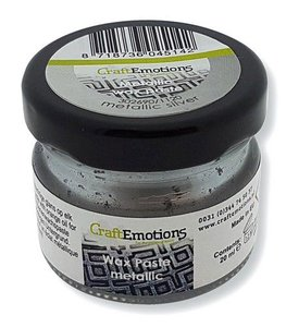 CraftEmotions Wax Paste - Zilver