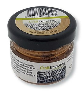 CraftEmotions Wax Paste - Brons