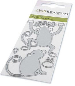 CraftEmotions Die - Monkeys