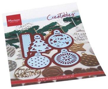 Marianne Design Creatable - Merry Christmas Baubles LR0682