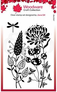 Creative Expressions Woodware Clear Stamp A6 - Autumn Pods