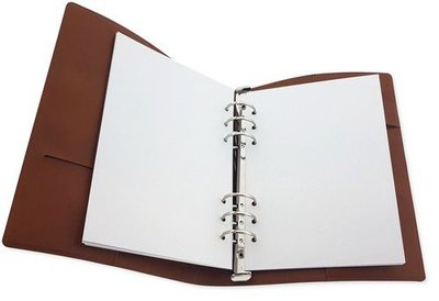 CraftEmotions Planner - Cognac Brown Leather