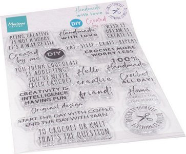 Marianne Design Stempel - Crafting Sentiments CS1072