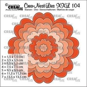 Crealies CREA-NEST-LIES XXL 104