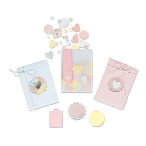 Sizzix Thinlits Die - Confetti Pocket 665069