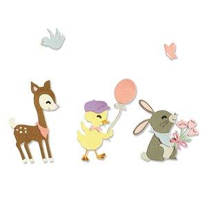 Sizzix Thinlits Die - Baby Animals 665070