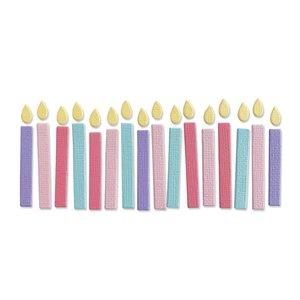 Sizzix Thinlits Die - Birthday Candles 665071