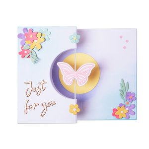 Sizzix Thinlits Die - Butterfly Spinner Card 665074