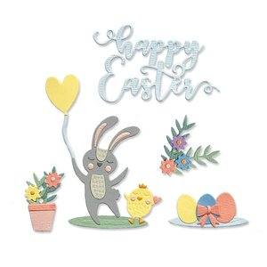 Sizzix Thinlits Die - Easter Icons 665076