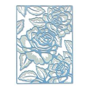 Sizzix Thinlits Die - Floral Lattice 665082