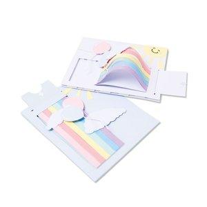 Sizzix Thinlits Die - Rainbow Slider Card 665086