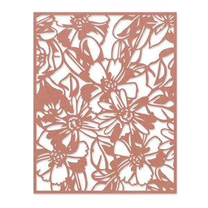 Sizzix Thinlits Die - Flowery by Tim Holtz 665203