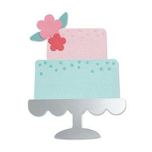 Sizzix Bigz Die - Celebration Cake 665095