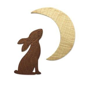 Sizzix Bigz Die - Rabbit & Moon 665099