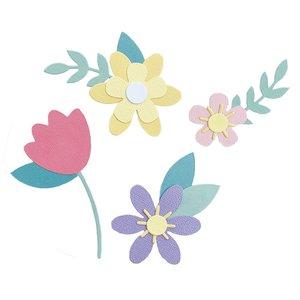 Sizzix Bigz Die - Spring Flowers 665101
