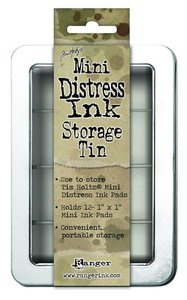 Ranger Mini Distress Ink Storage Tin Tim Holtz - TDA42013
