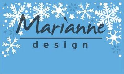 Marianne Design Creatable - Sneeuwvlokken Border LR0498