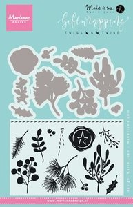 Marianne Design Stempel - Giftwrapping Twigs & Twine KJ1715