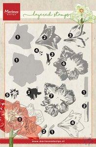 Marianne Design Stempel - Amaryllis Layering TC0860