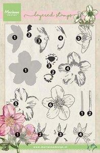 Marianne Design Stempel - Helleborus Layering TC0861