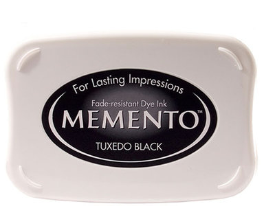 Memento Stempelkussen - Tuxedo Black ME-000-900