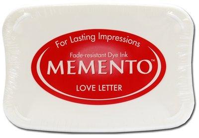 Memento Stempelkussen - Love Letter ME-000-302