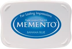 Memento Stempelkussen - Bahama Blue ME-000-601