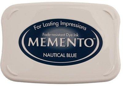 Memento Stempelkussen - Nautical Blue ME-000-607