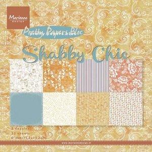 "Marianne Design Paper Pack 6"" - Shabby Chic PK9121"