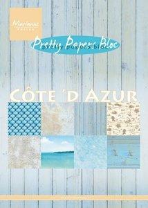 Marianne Design Paper Pack A5 - Cote d`Azur PK9146