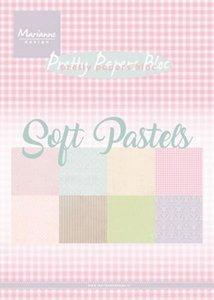 Marianne Design Paper Pack A5 - Soft pastels PK9157