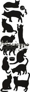 Marianne Design Craftable - Punch Die Cats CR1451