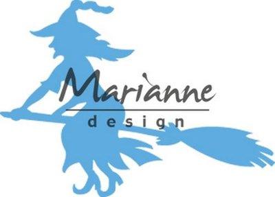 Marianne Design Creatable - Heks op bezem LR0561