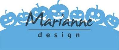 Marianne Design Creatable - border pompoenen LR0562
