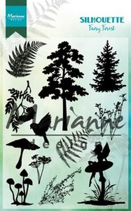 Marianne Design Stempel - Silhouette Fairy forest CS1013