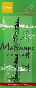Marianne Design Stempel - border Tiny's Winter landschap TC0867