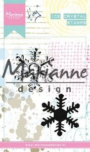 Marianne Design Cling Stempel - Tiny's ijskristal MM1626