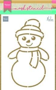 Marianne Design Craft Stencil - Snowman PS8018