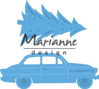 Marianne Design Creatable - Driving Home for Christmas LR0567