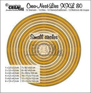 Crealies Crea-Nest-Lies XXL 80