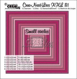Crealies Crea-Nest-Lies XXL 81