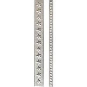 Sizzix 3-D Impresslits Embossing Folder - Star Trim 663297