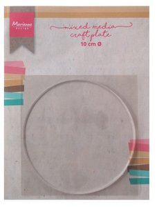 Marianne Design Mixed Media - Craft Plate Circle 10 cm LR0016
