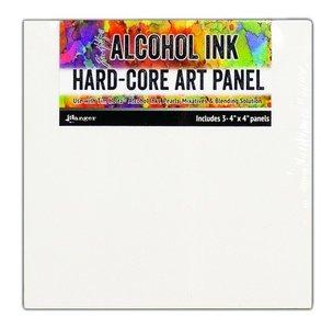 Ranger Alcohol Ink Hard-Core Art Panel - Square 4 x 4 TAC66897