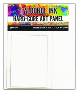 Ranger Alcohol Ink Hard-Core Art Panel - Rectangle TAC66910