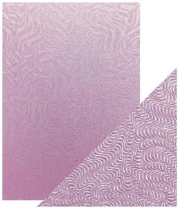 Tonic Studios Specialty Card - Lilac Waves 9843E