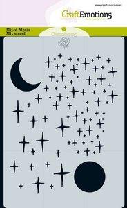 CraftEmotions Mask A6 - Angel & Bear - Star & Moon